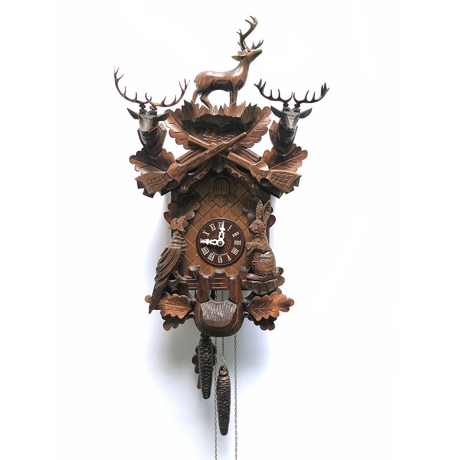 Đồng hồ Cuckoo máy ngày