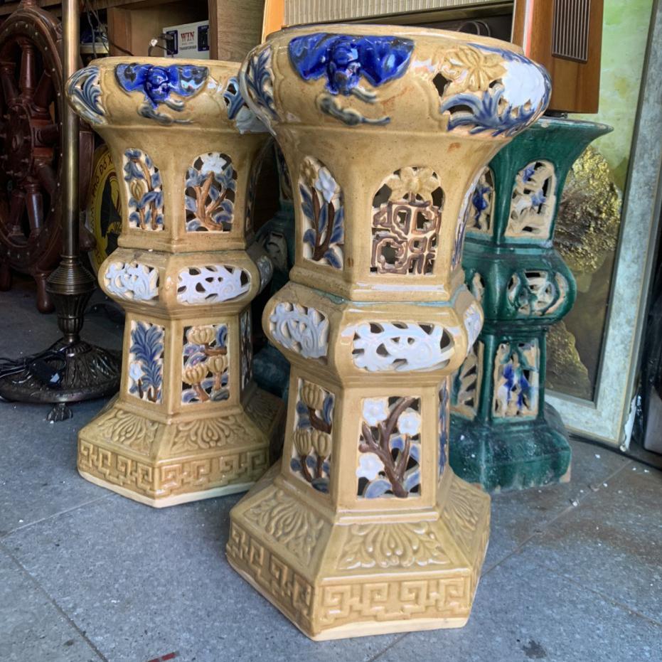 Đôn bồng gốm Biên Hòa (new)